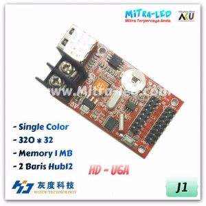 HD-U6A Running Text Controller Card | 320 x 32 - J01