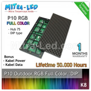 LED Panel Modul P8 SMD Outdoor RGB - FULL COLOR HUB 75 - K08