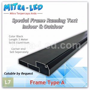 Frame Running Text - Videotron Type A | 3 Meter - L07
