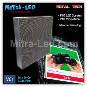 P10 Videotron Cabinet LED Screen Outdoor 960mm x 960mm