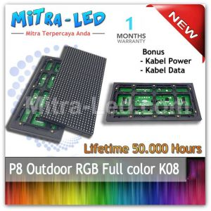 LED Panel Modul P8 Outdoor RGB - FULL COLOR  HUB 75 - K08