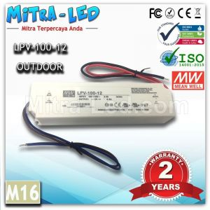 Original Meanwell LPV-100-12 Constant Voltage - M16
