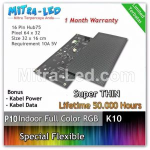 LED Panel Modul  P5 Flexible Indoor RGB - FULL COLOR HUB 75 - K10