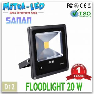 Flood Light 20W - D12