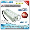 Brilux Waterproof Power Supply 12V DC 5A 60W - High Quality