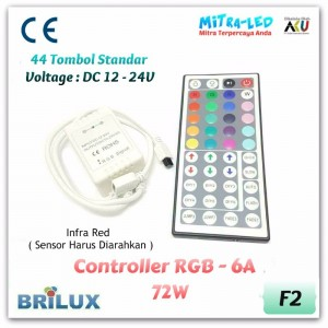 44 Key RGB Controller 6A | Infrared