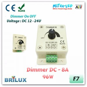 Dimmer LED 8A | Outbow DC 12V