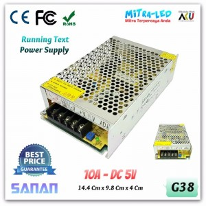 Sanan Switching Power Supply 5V DC 10A - Medium Quality
