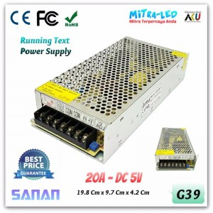 Sanan Switching Power Supply 5V DC 20A - Medium Quality