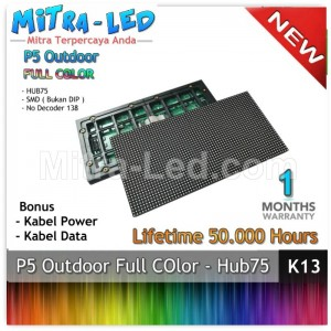 LED Panel Modul P5 Outdoor RGB - FULL COLOR  HUB 75 - K13