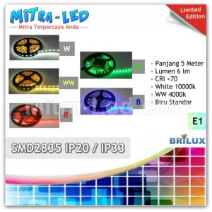 LED Strip Nyala 5 Warna type SMD 2835