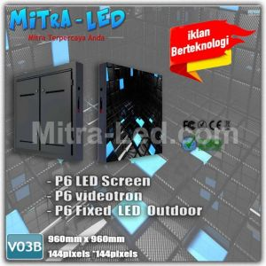 P6 VIDEOTRON CABINET LED SCREEN 960MM X 960MM-V03B