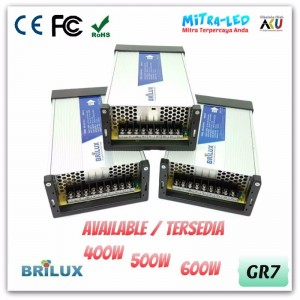 Brilux Rainproof Power Supply 12V DC 41.7A - High Quality