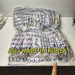LED Modul Samsung BRILUX 3 Mata SMD 2835 | IP68 Waterproof ( Korea ) | Made in Korea