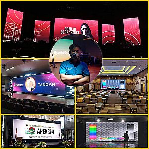 Rental LED & Sewa Layar Videotron P3.9 Indoor & P3.9 Outdoor