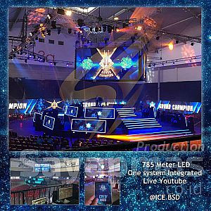 Rental LED & Sewa Layar Videotron P3 Indoor & P3 Outdoor